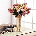 رخيصةأون أزهار اصطناعية-زهور اصطناعية 0 فرع ترف أوروبي المزهرية أزهار الطاولة / واحدة زهرية