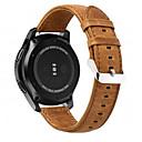 رخيصةأون ساعات الرجال-حزام إلى Gear S3 Frontier / Gear S3 Classic / Gear S3 Classic LTE Samsung Galaxy بكلة عصرية جلد طبيعي شريط المعصم