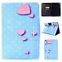 رخيصةأون أغطية أيفون-غطاء من أجل Apple iPad Air / iPad 4/3/2 / iPad Mini 3/2/1 قلب غطاء كامل للجسم قلب قاسي جلد PU