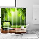 hesapli Banyo Gereçleri-Shower Curtains & Hooks Çağdaş Günlük Polyester Çağdaş Yenilik Makine Yapımı Su Geçirmez Banyo