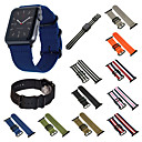 hesapli Motorsiklet ve ATV Parçaları-Watch Band için Apple Watch Series 4/3/2/1 Apple Spor Bantları Naylon Bilek Askısı
