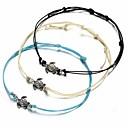 preiswerte Armbänder-Damen Bettelarmbänder - Schildkröte Einfach, Ethnisch Armbänder Weiß / Schwarz / Blau Für Alltag Strasse