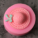 hesapli Fırın Araçları ve Gereçleri-Bakeware araçları Silikon Tatil / 3D Karikatür / Yaratıcı Kek / Çikolota / Pişirme Kaplar İçin Pasta Kalıpları 1pc