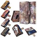 رخيصةأون حافظات / جرابات هواتف جالكسي S-غطاء من أجل Samsung Galaxy S8 Plus S8 حامل البطاقات محفظة قلب غطاء كامل للجسم سادة قاسي جلد PU إلى S8 Plus S8 S7 edge S7