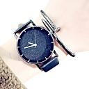 رخيصةأون Huawei أغطية / كفرات-رجالي ساعة فستان جلد اصطناعي أسود / الأبيض 30 m الكرونوغراف مماثل كلاسيكي موضة - أبيض أسود سنة واحدة عمر البطارية / ستانلس ستيل / SSUO LR626