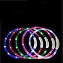 abordables Accesorios para PS4-Perros Corbata / Pajarita Luces LED / Ajustable / Retractable / Recargable TPU Rojo / Verde / Azul
