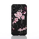 cheap iPhone Cases-Case For Apple iPhone X / iPhone 8 Pattern Back Cover Flower Hard PC for iPhone X / iPhone 8 Plus / iPhone 8