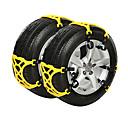economico Collana-6pcs Auto Catene da neve Lavoro Tipo di fibbia For Car Wheel For Peugeot 4008 / 308 / 3008 Tutti gli anni