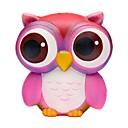 halpa Sisustus-Puristeltava lelu / Lievittää stressiä Owl Office Desk Lelut / Dekompressiolelut Others 1pcs Children's Kaikki Lahja
