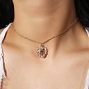 preiswerte Halsketten-Anhängerketten - Kreuz, Liebe Einfach, Modisch Gold 35 cm Modische Halsketten Schmuck Für Party / Abend, Geschenk, Alltag