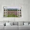 hesapli Çıkartmalar ve Desenler-Dekoratif Duvar Çıkartmaları / Buzdolabı Çıkartmaları - 3D Duvar Çıkartması Manzara / Çiçek / Botanik Banyo / Çocuk Odası