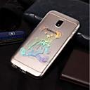 رخيصةأون حافظات / جرابات هواتف جالكسي S-غطاء من أجل Samsung Galaxy J7 (2017) / J7 (2016) / J7 IMD / نموذج غطاء خلفي حيوان ناعم TPU