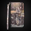 baratos Capinhas para iPhone-Capinha Para Apple iPhone X / iPhone 8 Plus Carteira / Antichoque / Com Suporte Capa Proteção Completa Gato Rígida PU Leather para iPhone X / iPhone 8 Plus / iPhone 8