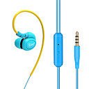 저렴한 메이크업 & 네일 케어-DM100 EARBUD 유선 헤드폰 동적 구리 모바일폰 이어폰 하이파이 / 마이크 포함 헤드폰