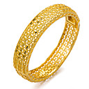 cheap Women's Watches-Women's Bracelet Bangles Cuff Bracelet - Gold Plated Ladies, Ethnic Bracelet Jewelry Gold For Party Gift