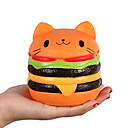 cheap Stress Relievers-LT.Squishies Squeeze Toy / Sensory Toy Stress Reliever Cat Focus Toy Squishy Decompression Toys 1 pcs Children's All Boys' Girls' Toy Gift