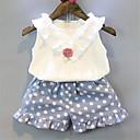 رخيصةأون تيشيرتات وتانك توب رجالي-مجموعة ملابس بدون كم لون سادة أساسي للفتيات طفل صغير