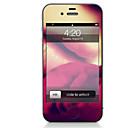 hesapli iPhone Stickerları-1 parça Deri Etiket için Çizilmeye Dayanıklı Lolita Tema PVC iPhone 4/4s