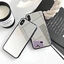 billige iPhone-etuier-Etui Til Apple iPhone X / iPhone 8 Plus Spejl Bagcover Ensfarvet Hårdt Akryl for iPhone X / iPhone 8 Plus / iPhone 8