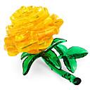 hesapli Çocuklar Bulmacalar-3D Yapbozlar / Kristal Yapbozlar Çiçek Teması Ofis Masası Oyuncakları Akrilik / Polyester 44pcs Yetişkinler / Orta Hepsi Hediye