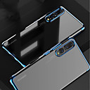 cheap Tablet Cases-Case For Huawei MediaPad P20 / P20 Pro Plating / Transparent Back Cover Solid Colored Soft TPU for Huawei P20 / Huawei P20 Pro / Huawei P20 lite