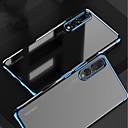 abordables Pochettes de Tablette-Coque Pour Huawei MediaPad P20 / P20 Pro Plaqué / Transparente Coque Couleur Pleine Flexible TPU pour Huawei P20 / Huawei P20 Pro / Huawei P20 lite