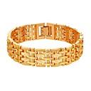 preiswerte LED-Zubehör-Herrn Seil Ketten- & Glieder-Armbänder - Modisch Armbänder Gold / Silber Für Geschenk Alltag