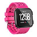 levne Nabíječky-Watch kapela pro Fitbit Versa Fitbit Sportovní značka / Klasická spona Silikon Poutko na zápěstí