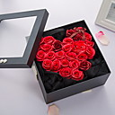 رخيصةأون أزهار اصطناعية-زهور اصطناعية 1 فرع كلاسيكي ترف الورود أزهار الطاولة