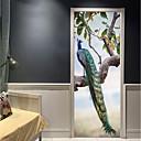 hesapli Duvar Sanatı-Dekoratif Duvar Çıkartmaları / Kapak Etiketleri - Tatil Duvar Sticker Hayvanlar / 3D Oturma Odası / Yatakodası