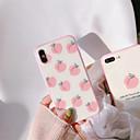abordables Coques d'iPhone-Coque Pour Apple iPhone X / iPhone 7 Etanche à la Poussière Coque Nourriture / Fruit Dur Silicone pour iPhone X / iPhone 8 Plus / iPhone 8