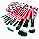 hesapli Makyaj ve Tırnak Bakımı-10pcs Makyaj fırçaları Profesyonel Suni Fibre Fırça Çevre-dostu / Profesyonel / Yumuşak Ahşap / Bambu