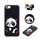 hesapli iPhone Kılıfları-Pouzdro Uyumluluk Apple iPhone 6 / iPhone 6s Temalı Arka Kapak Panda Yumuşak TPU için iPhone 6s / iPhone 6