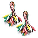 cheap Diodes-20 Pieces and 5 Colors Test Lead Set & Alligator Clips