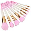 abordables Maquillage & Soin des Ongles-9pcs Pinceaux à maquillage Professionnel ensembles de brosses Economique / Doux Bois / bambou