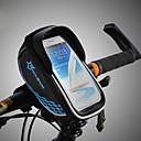 abordables Sacs de Vélo-ROCKBROS Sac de téléphone portable / Sac de cadre de vélo Ecran tactile, Etanche, Poids Léger Sac de Vélo TPU / EVA / Polyester Sac de Cyclisme Sacoche de Vélo Cyclisme Cyclisme