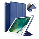cheap iPad  Cases / Covers-Case For Apple iPad (2018) / iPad (2017) with Stand / Magnetic Full Body Cases Solid Colored Hard Silicone for iPad Air / iPad 4/3/2 / iPad Mini 3/2/1
