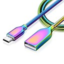 cheap Phone Cables & Adapters-Type-C Quick Charge Cable Samsung / Huawei for 100 cm For Zinc Alloy