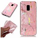 halpa Samsung suojakalvot-Etui Käyttötarkoitus Samsung Galaxy A6+ (2018) / A6 (2018) Pinnoitus / IMD / Kuvio Takakuori Marble Pehmeä TPU varten A6 (2018) / A6+ (2018) / A3 (2017)