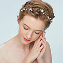 ieftine Bijuterii de Păr-Pentru femei Simplu Elegant Material Textil Aliaj Zirconiu Cubic Cordeluțe Hair Charms Dată Festival - Floral