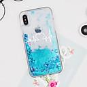 رخيصةأون أغطية أيفون-غطاء من أجل Apple iPhone X / iPhone 8 Plus / iPhone 8 سائل متدفق / نموذج غطاء خلفي قلب / بريق لماع قاسي TPU / الكمبيوتر الشخصي