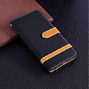 ieftine Tratamente de Fereastră-Maska Pentru Huawei Y9 (2018)(Enjoy 8 Plus) / Huawei Y7(Nova Lite+) / Huawei Y6 (2017)(Nova Young) Portofel / Titluar Card / Cu Stand Carcasă Telefon Mată Greu textil