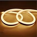 ieftine Benzi Lumină LED-1m 12v led banda de lumina impermeabil condus lampa de banda 2835 smd flexibil condus de benzi neon a condus semn bord tub de sârmă lumini șir
