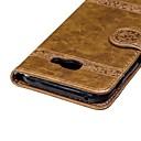 Недорогие Чехлы и кейсы для Galaxy A5-Кейс для Назначение SSamsung Galaxy A3 (2017) / A5 (2017) / A8 2018 Кошелек / Бумажник для карт / со стендом Чехол Цветы Твердый ТПУ