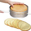 זול כלים וגאדג'טים לאפייה-כלי Bakeware פלדת על חלד הגעה חדשה עשה זאת בעצמך שימוש יומיומי כלים חדישים למטבח כלי קינוח 1pc