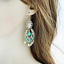 preiswerte Ohrringe-Damen Crossbody Tropfen-Ohrringe - Tropfen, Glücklich Grundlegend, Modisch Blau Für Alltag / Verabredung