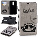 cheap Screen Protectors for Nokia-Case For Nokia Nokia 5 / Nokia 3 Wallet / Card Holder / with Stand Back Cover Panda Hard TPU for Nokia 5 / Nokia 3 / Nokia 1