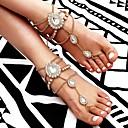 hesapli Saç Takıları-Katmanlı Barefoot Sandalet - Şık, moda, Tatlı Altın / Gümüş Uyumluluk Hediye Günlük Kadın's