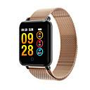 levne Chytré hodinky-m19 ženy muži srdeční frekvence krevní tlak bluetooth voděodolný sport inteligentní náramek pro android iOS