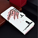cheap iPhone Cases-Case For Apple iPhone X / iPhone 8 Plus Wallet / Card Holder / with Stand Full Body Cases Cat / Flower Hard PU Leather for iPhone X / iPhone 8 Plus / iPhone 8